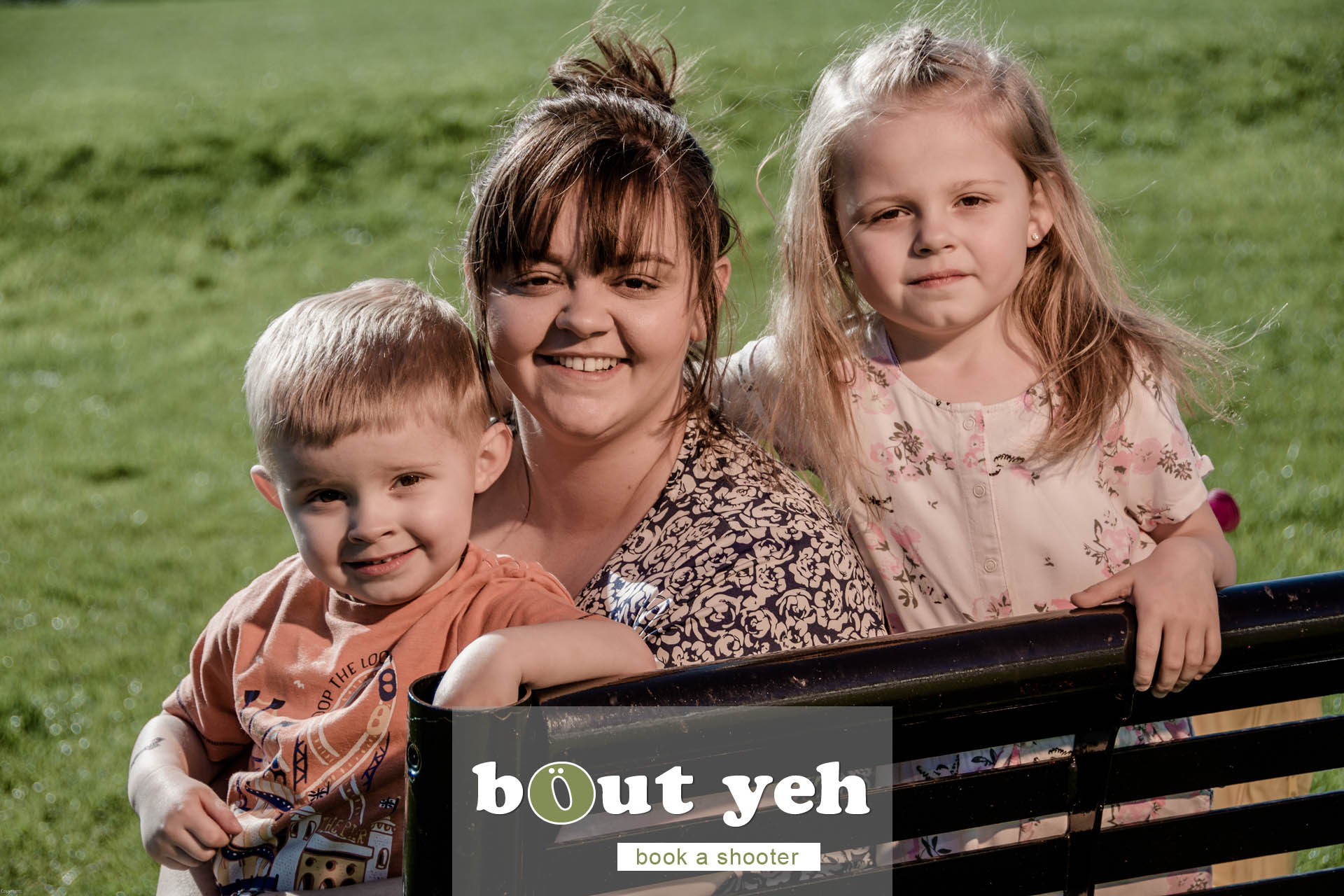 Moya and children, Marrowbone Millenium Park, Oldpark Road, Belfast - photo 5379.
