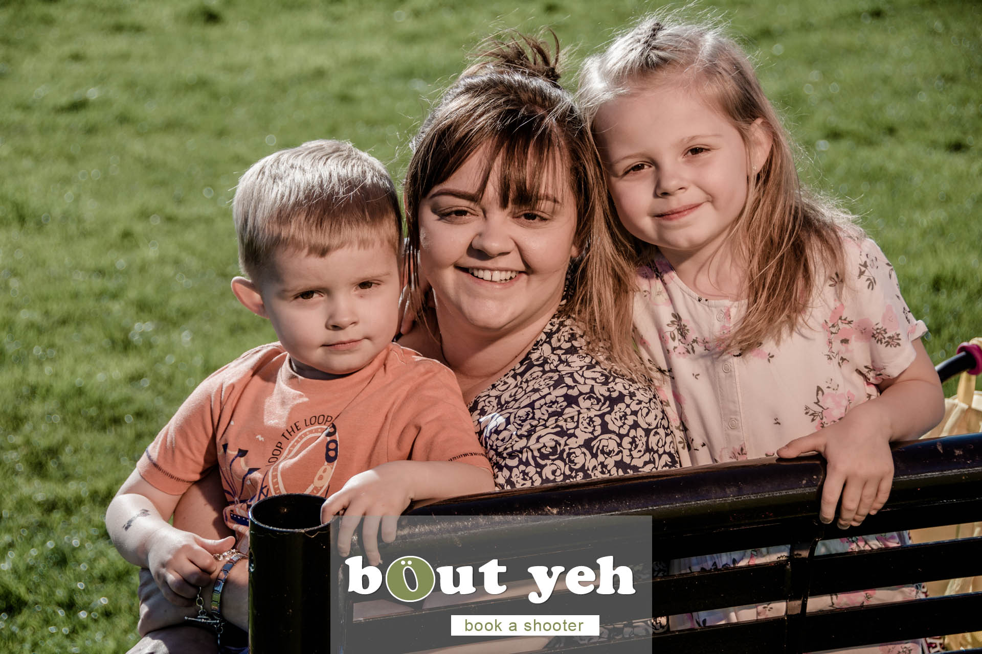 Moya and children, Marrowbone Millenium Park, Oldpark Road, Belfast - photo 5381.