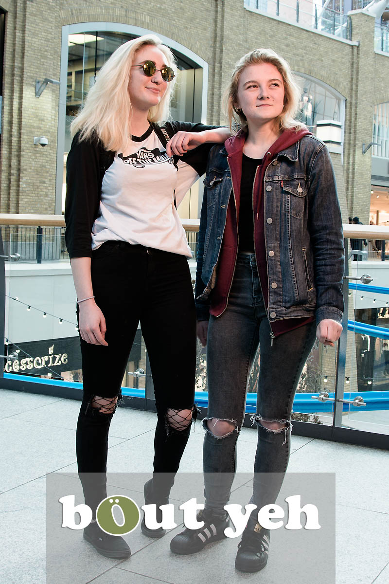 Roxy and Courtney, Victoria Square, Belfast - photo 5446, excluding call to action.