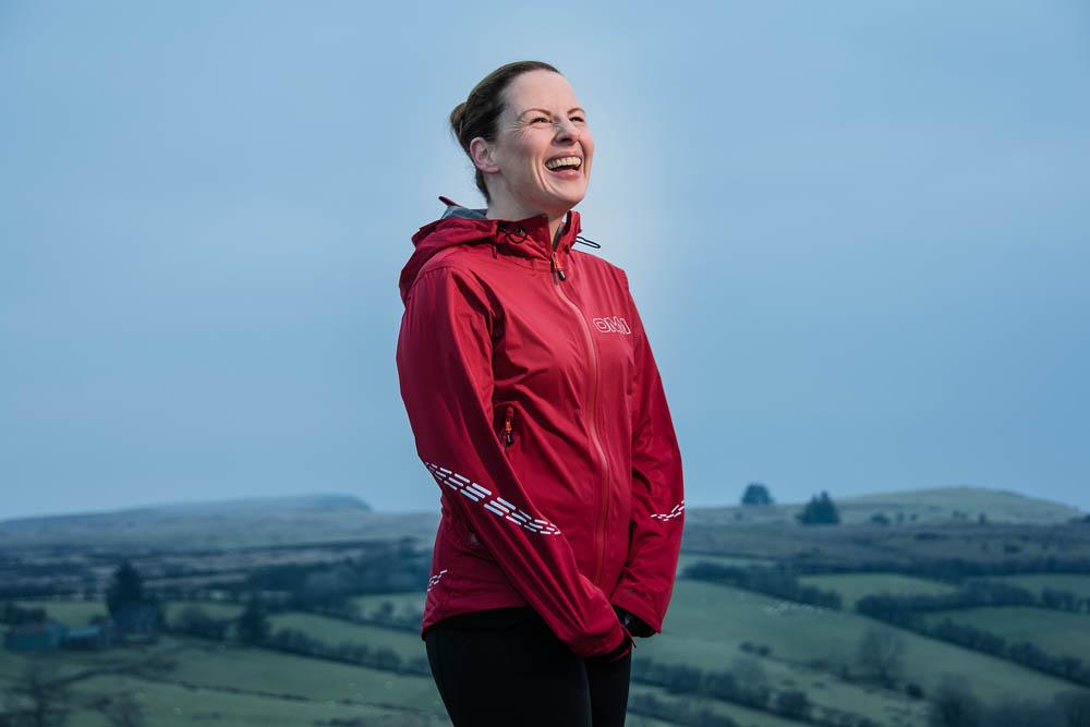 Emma, of Ballymena Runners, at Glenariff Forest, Northern Ireland. Photo 0667. Featured image.