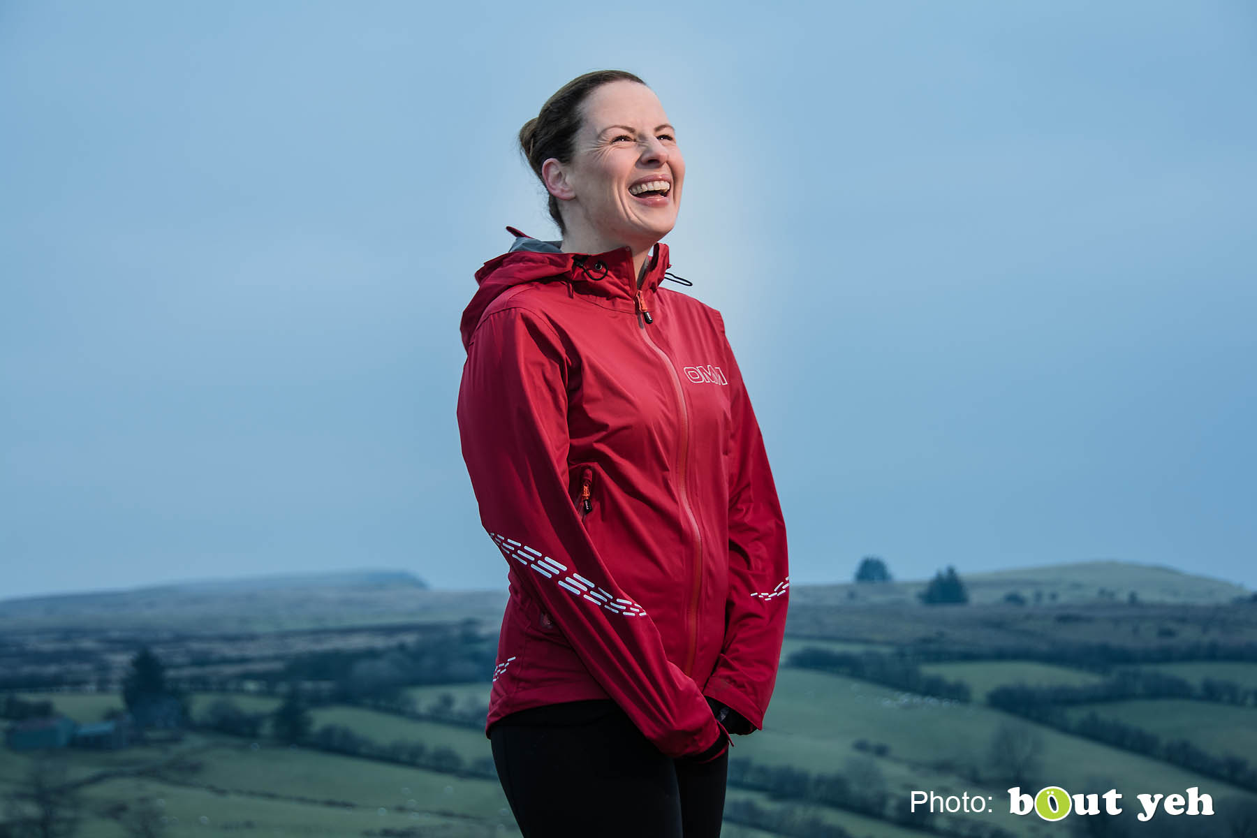 Emma, of Ballymena Runners, at Glenariff Forest, Northern Ireland. Photo 0667.