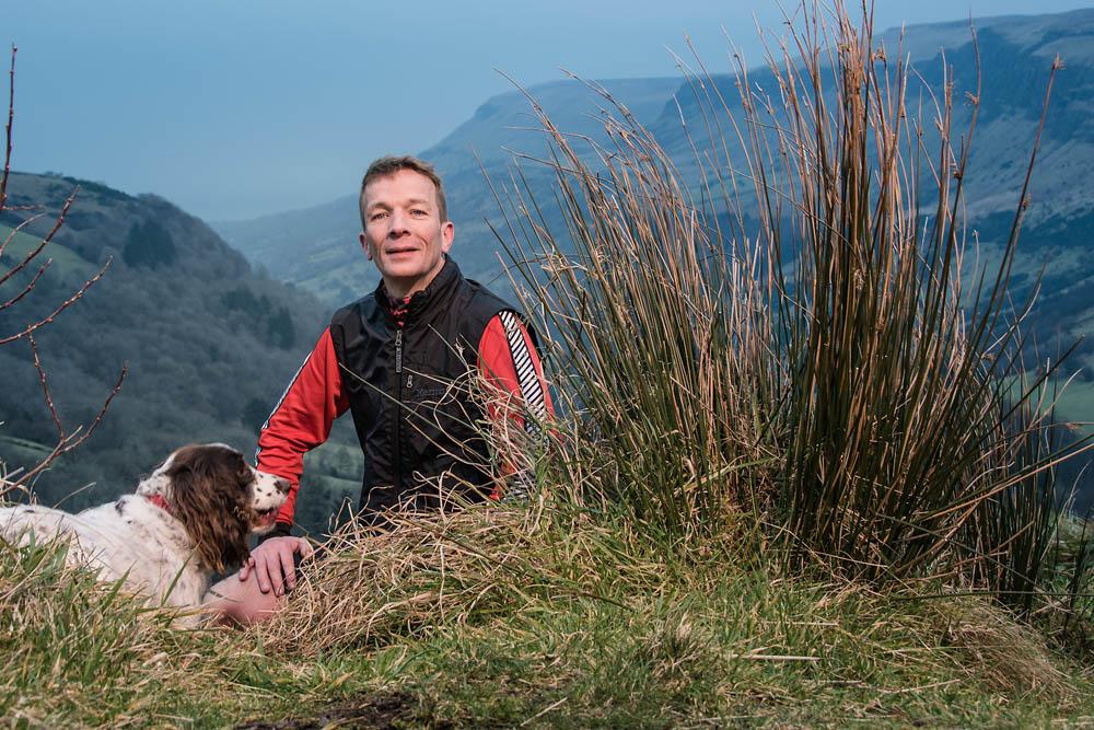 Mark, of Ballymena Runners, at Glenariff Forest, Northern Ireland - photo 0748. Featured image.