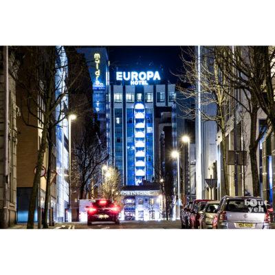 Europa Hotel, Belfast, Northern Ireland. Photo reference 0053, 3x2 ratio.