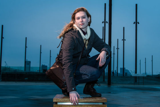 Melanie at Titanic Belfast, by Bout Yeh Photographers Belfast. Photo 0831 featured image.