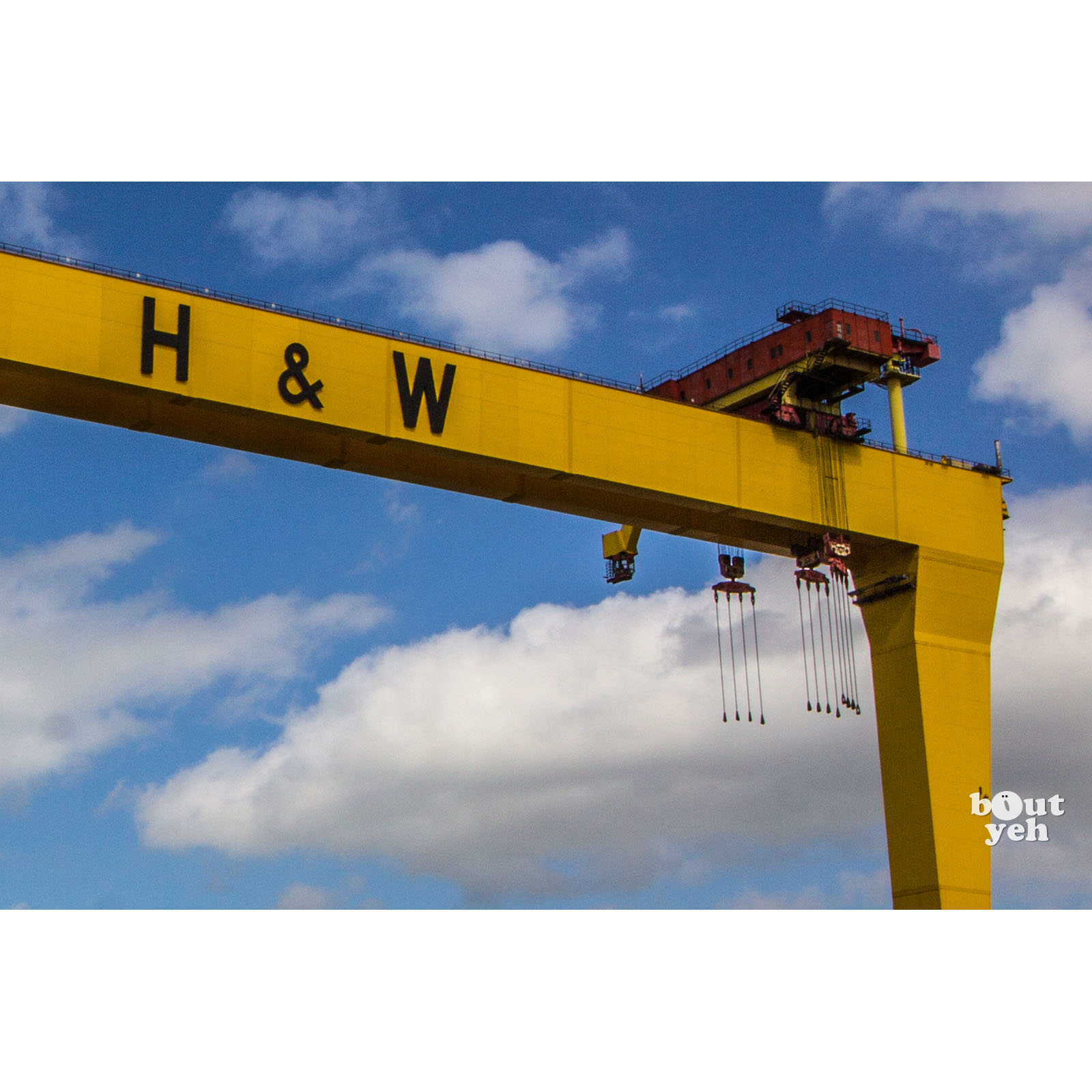 Image - Featured photographer, Justin McLean, photograph of Harland and Wolff Crane, Belfast.