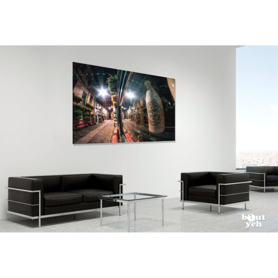 Duke of York Pub Belfast by rskb - photographic print in room setting.