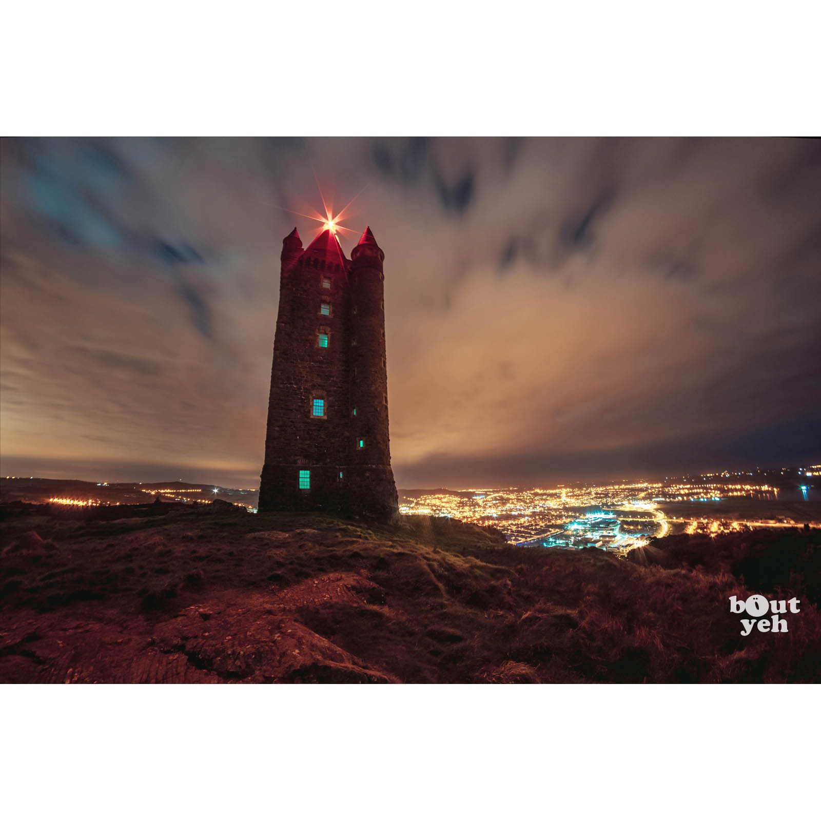 Image - Scrabo Tower Northern Ireland by rskb - photographic print for sale.