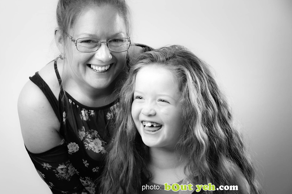 Actor Darcey McNeeley and mum Emma. Photo 4936. Featured image.