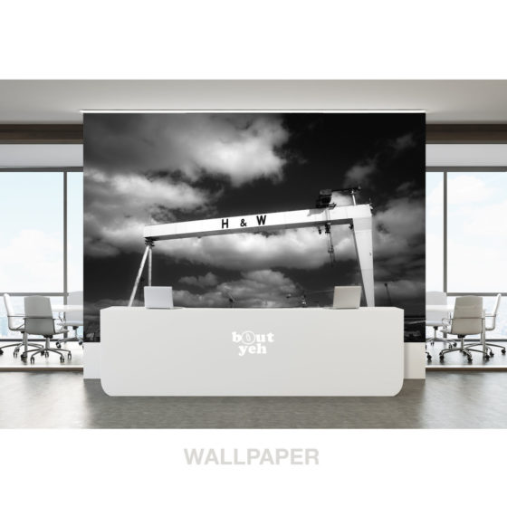 Harland and Wolff Belfast by sb - print for sale. Photo wallpaper. 5229