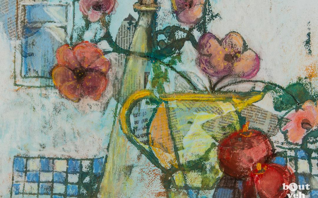 Irish landscape painting – The Window