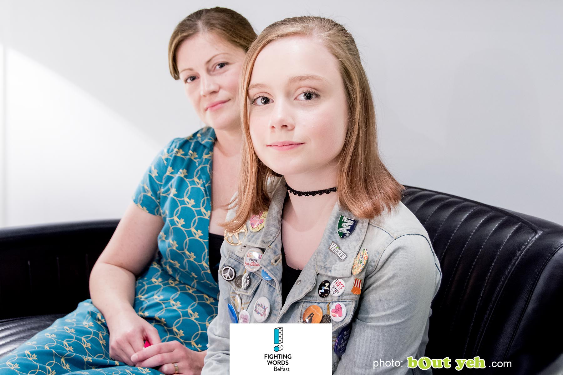 Sophia and Kelly of Write Club photographed by Bout Yeh photographers Belfast - photo 6248