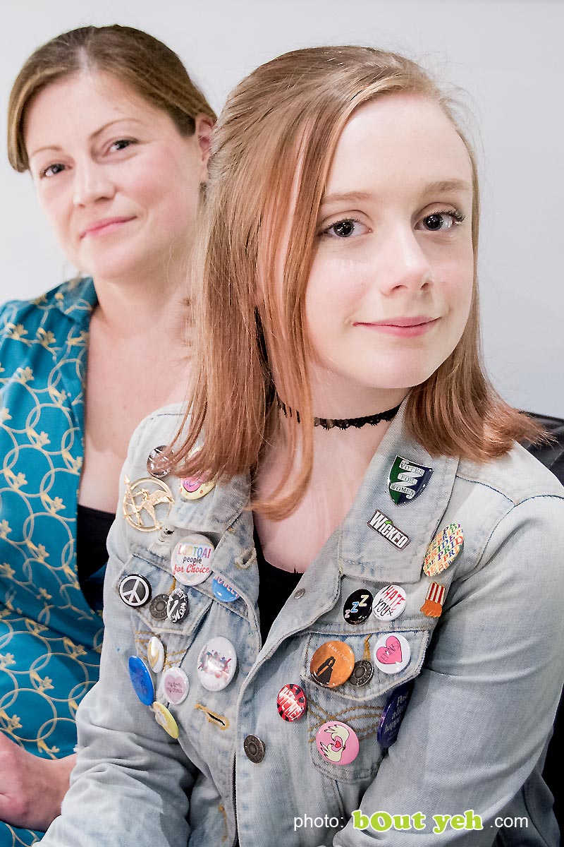 Image - Sophia and Kelly of Write Club photographed by Bout Yeh photographers Belfast - photo 6250