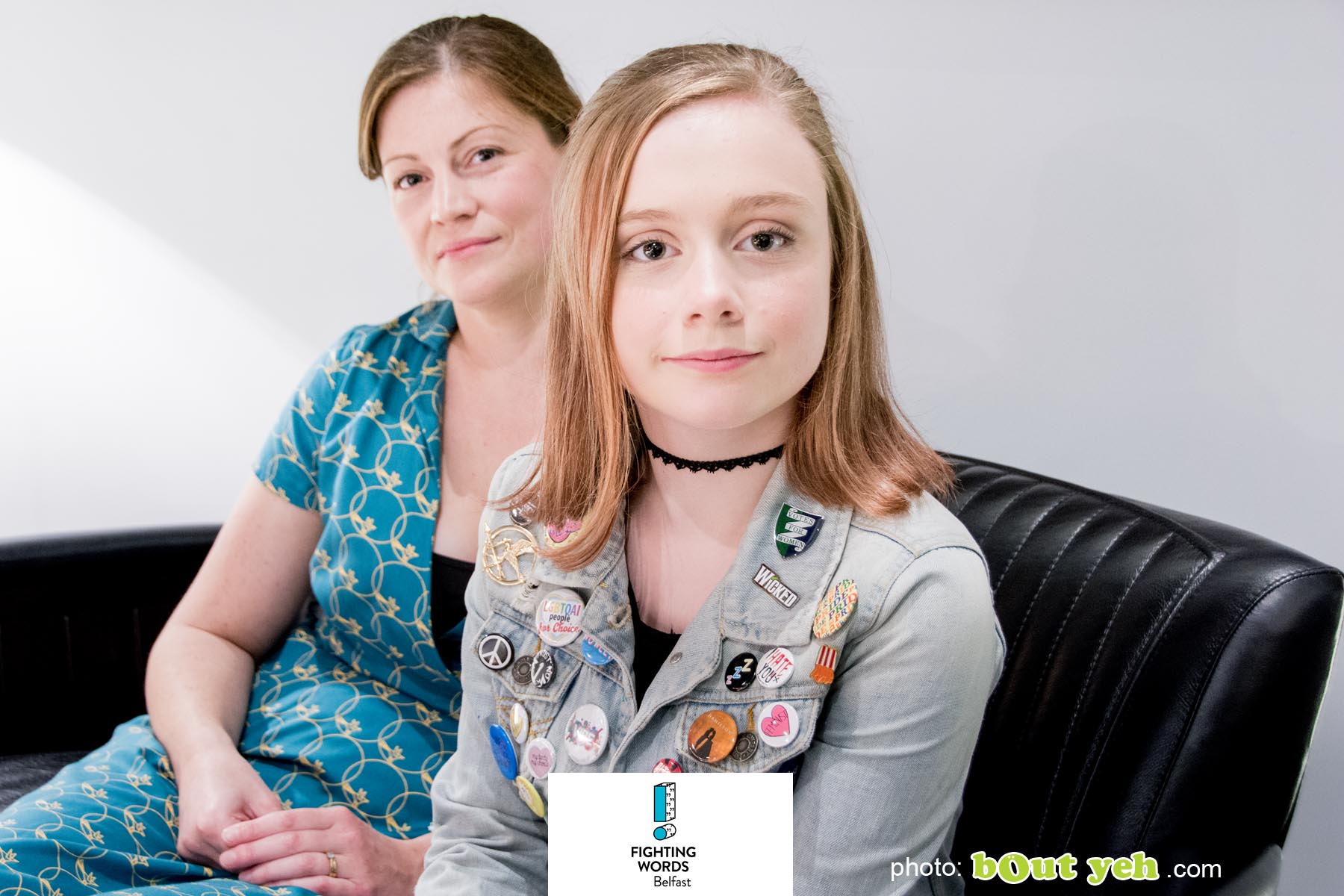 Image - Sophia and Kelly of Write Club by Bout yeh photographers Belfast - photo 6251